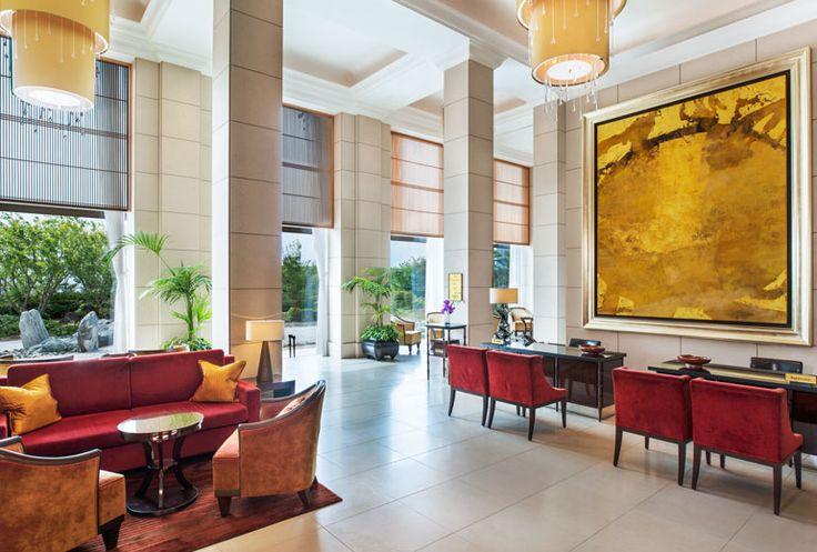 The St. Regis Osaka - Reception - Japan & Luxury Travel Advisor – luxurytraveltojapan.com - #Luxuryhotels #Osaka #Japan #Japantravel #stregisosaka