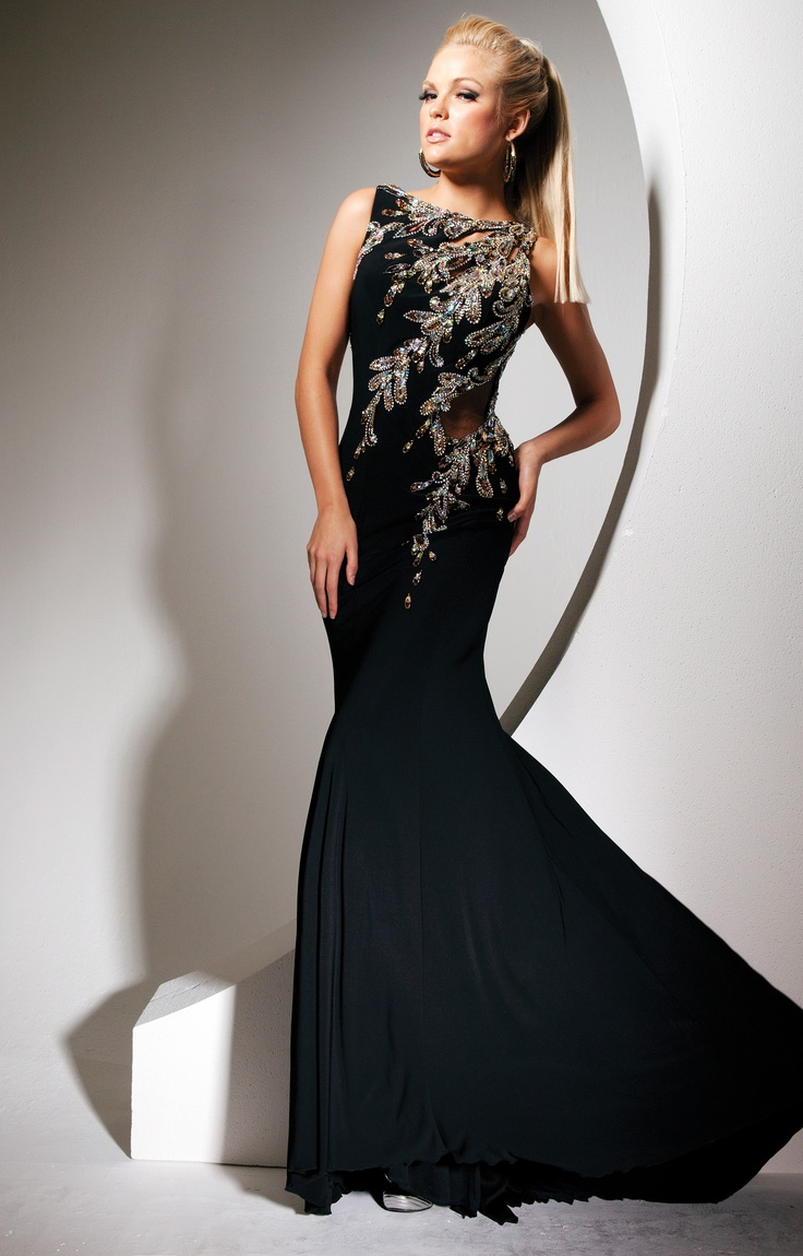 Tony Bowls (TBE11343) - 2013: Bowls Dresses, Glamorous Dresses, Evening Dresses, Fashion, Bowls Tbe11343, Black Prom Dresses, Tony Bowls Prom, Bowls 2013, Beautiful Gowns