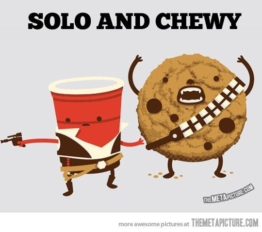 Solo and Chewy…