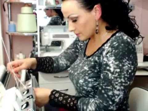 мастер-класс Плетеные вязаные косы на вязальной машине - YouTube
