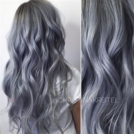Behind The Chair - Gunmetal Grey | I Am My Hair ...
