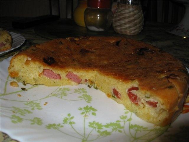 Сырный пирожок