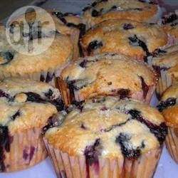 Photo de recette : Muffins aux bleuets moelleux