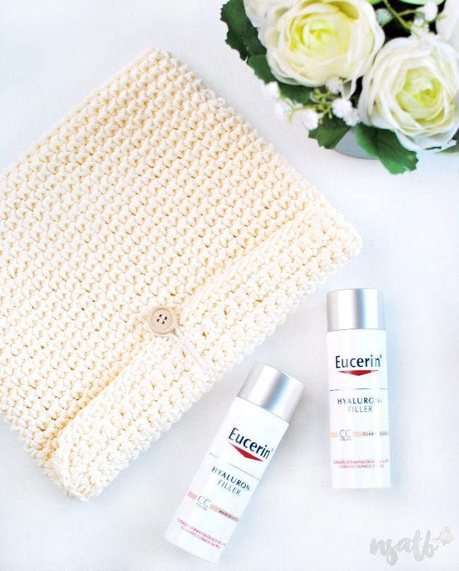 Not so addicted to Beauty: Sorteo Hyaluron-Filler CC Cream. Consigue un lote de productos Eucerin