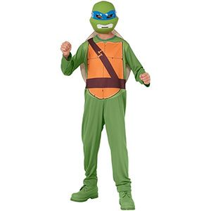 Ninja Kaplumbağalar Leonardo Kostüm 8-10 yaş, ninja kostüm