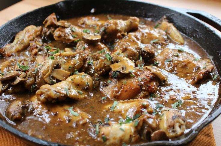 """Jake Smollett: """"My smothered chicken got me like #ComfortFood Check out the recipe on my blog. Link in bio"""""""