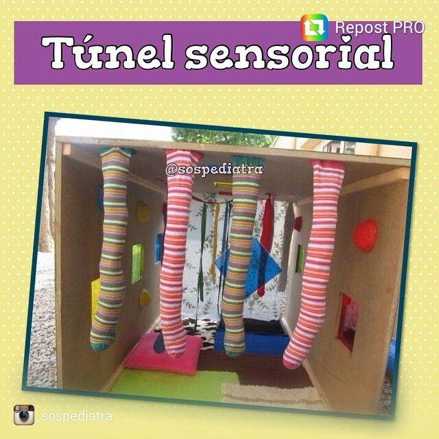 Tunel sensorial para bebes                                                                                                                                                      Mais