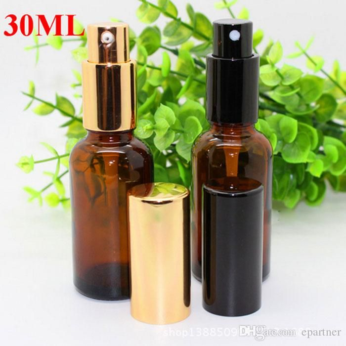 Wholesale cheap 30ml amber glass spray bottles online, brand - Find best 2017 high quality 30ml amber glass spray bottles wholesale essential oils glass bottle with black or gold cap for skin care make up at discount prices from Chinese packing bottles supplier - epartner on DHgate.com.