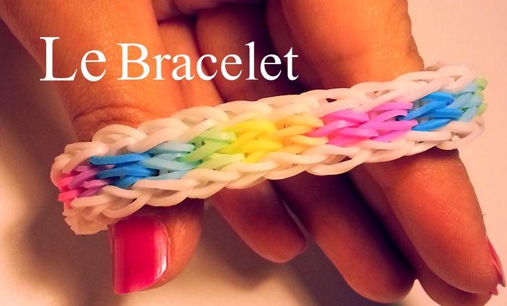 Comment faire un bracelet avec des élastiques sans machine