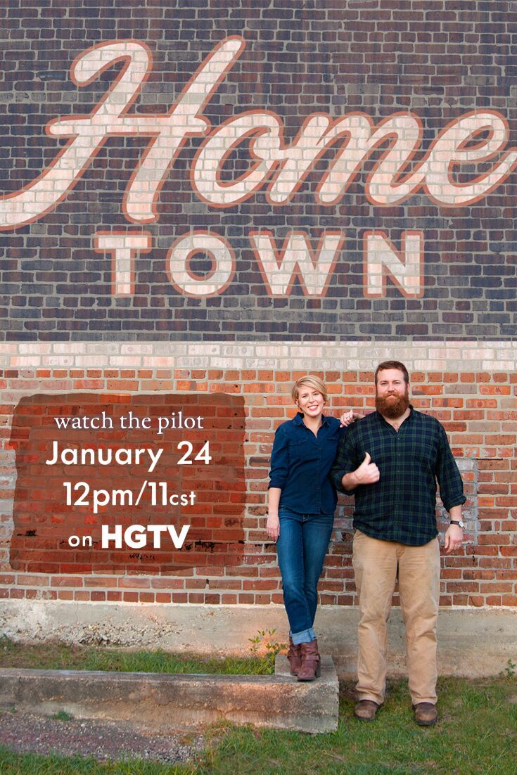 "What It Was Like to Film the Pilot for ""Home Town"" on HGTV 