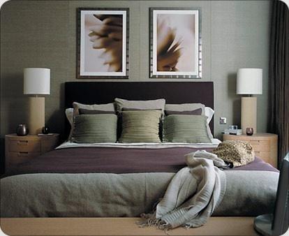 Purple Gray Bedroom  Master