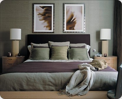 Purple Gray Bedroom For The Home Pinterest