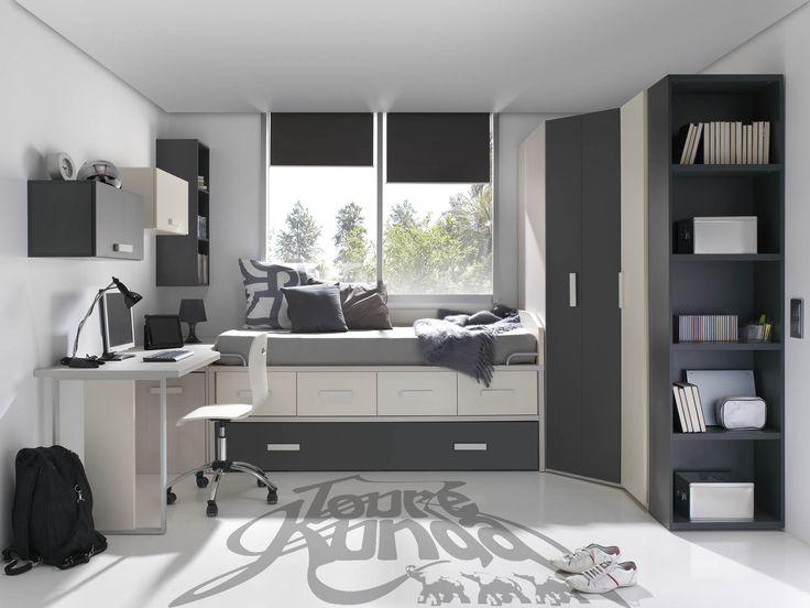 M s de 25 ideas fant sticas sobre dormitorios de j venes - Decoracion para dormitorio juvenil ...