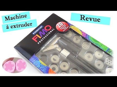 {Revue} Machine à extruder de FIMO professional - YouTube