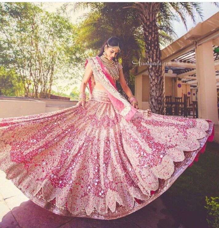 Manish Malhotra bridal outfit...so pretty                                                                                                                                                                                 More