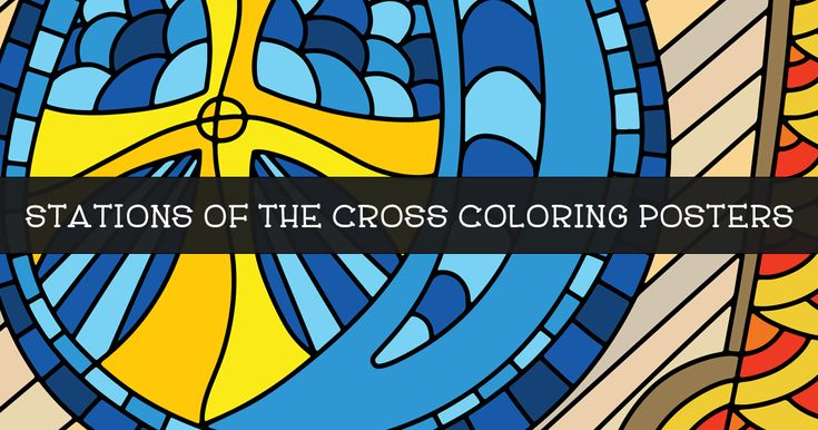 Our Stations of the Cross Coloring Posters provide churches, schools and communities with a collaborative art project for Lent 2017.