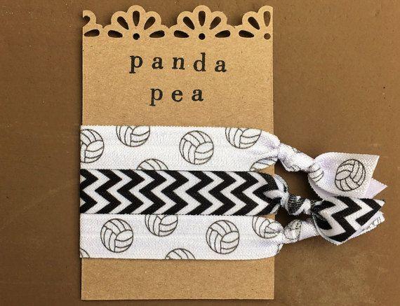 Lazos de voleibol elásticos del pelo por Panda