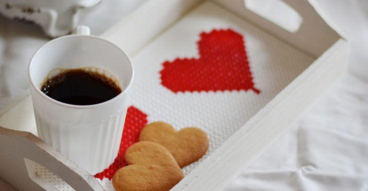Kaffebricka till allahjärtansdag - Diagnos:Kreativ  #hama #pärlpyssel #DIY