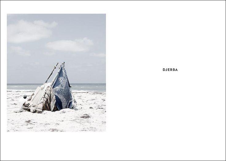 NOMAD'S LAND  DJERBA ET AUTRES PLAGES PUBLIQUES  Photographies de Yoann CIMIER  Editions Lalla Hadria - Tunisie  http://lallahadriaeditions.com/portfolio/nomads-land/