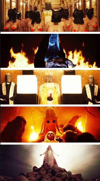 The Lords of Salem (2013, dir. Rob Zombie) -- just NO.