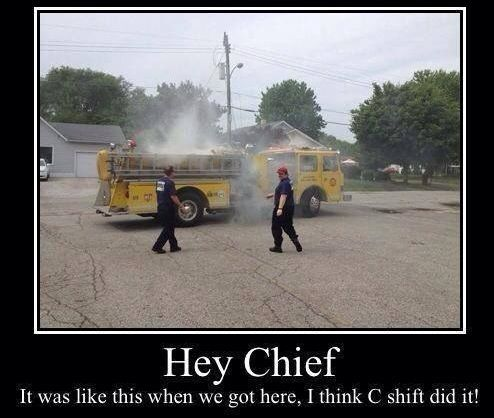 Funny funny firefighter wax