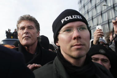Actor David Hasselhoff and Greek soccer player Giorgos Katidis are making news today for actions surrounding German history. The former, noble, the latter, disastrous. David Hasselhoff and Giorgos Katidis emphasize the need to think global, parent local.