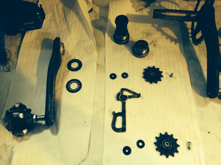MTB - in bits and pieces