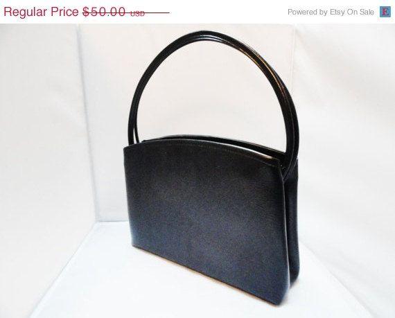 SALE Vintage Handbag 60s Mad Men Navy Blue by 2sweet4wordsVintage, 32 ...