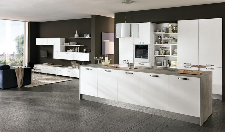 32 best Modern Kitchens images on Pinterest | Contemporary unit ...