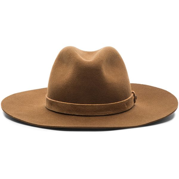 rag & bone Wide Brim Fedora (£135) ❤ liked on Polyvore featuring accessories, hats, headwear, sombreros, accessories - headwear, wide brim fedora, wide brim wool fedora, wool fedora, wide brim hat and woolen hat