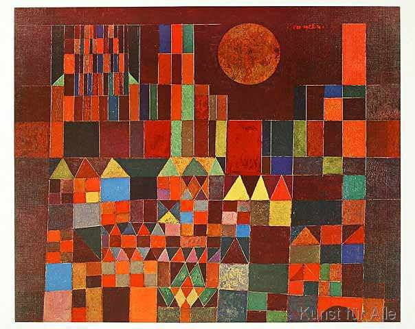 Paul Klee - Burg und Sonne, 1928   Klee, Paul klee