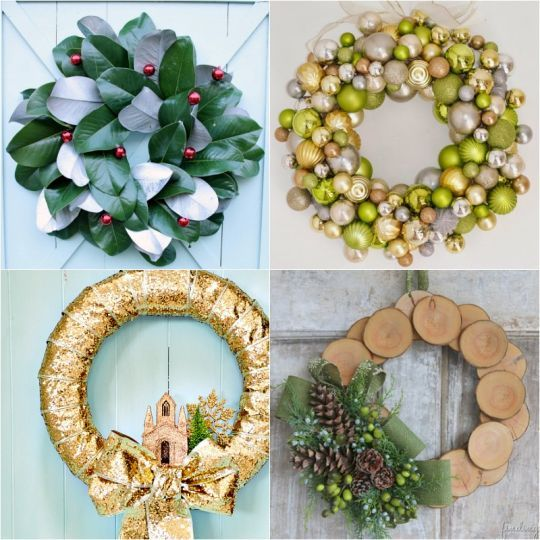 12 Wreaths to Get You in the Christmas Spirit