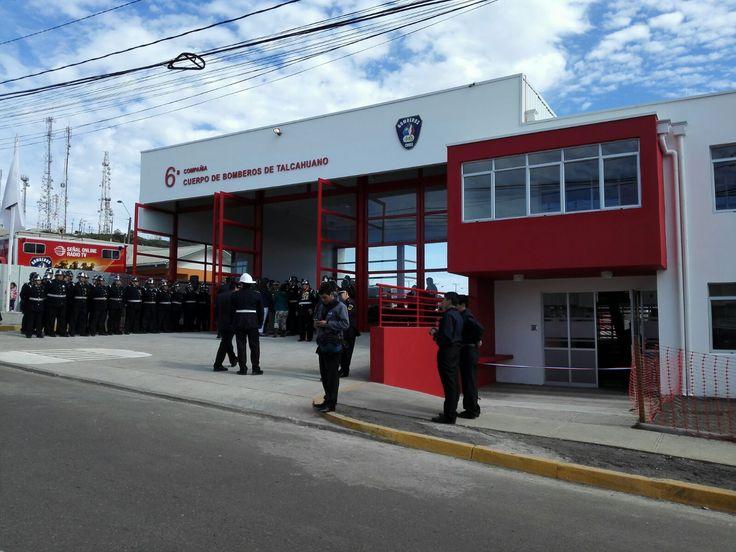 Cuartel 6 cia de Bomberos de Talcahuano, Chile
