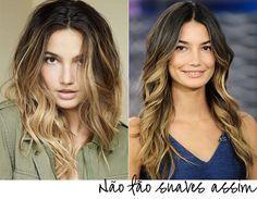 Veja aqui 10 sugestões de Ombré Hair para inspirar você seja qual for o seu tipo de cabelo. Ombré Hair para cabelos lisos, longos, crespos, ondulados.