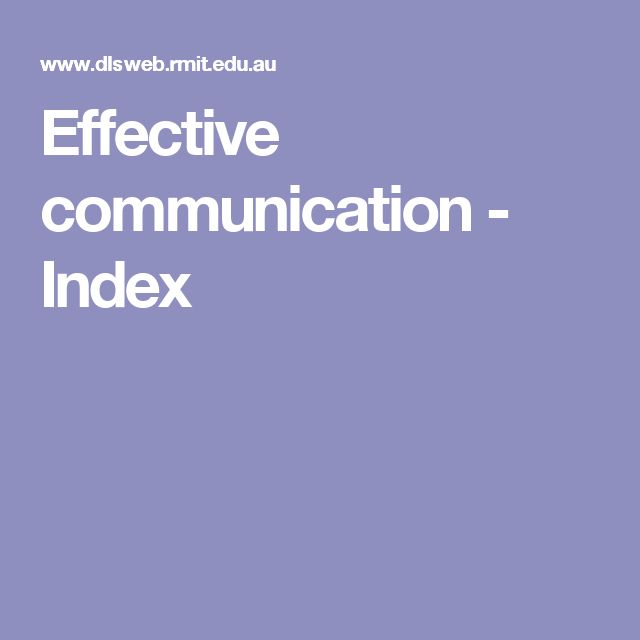 Effective communication - This support resource from RMIT talks about communication, the different types and the barriers.  I thought this resource was great as a whole.