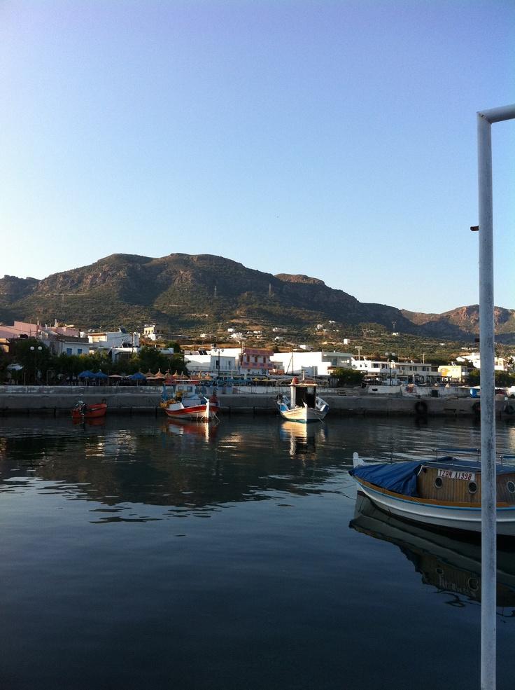 Harbour in Makrigialos, Crete