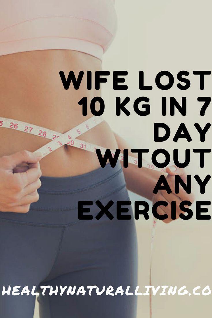 Der Mann war total geschockt, mich zu sehen. Nach 7 Tagen verlor ich 10 kg ohne Übung