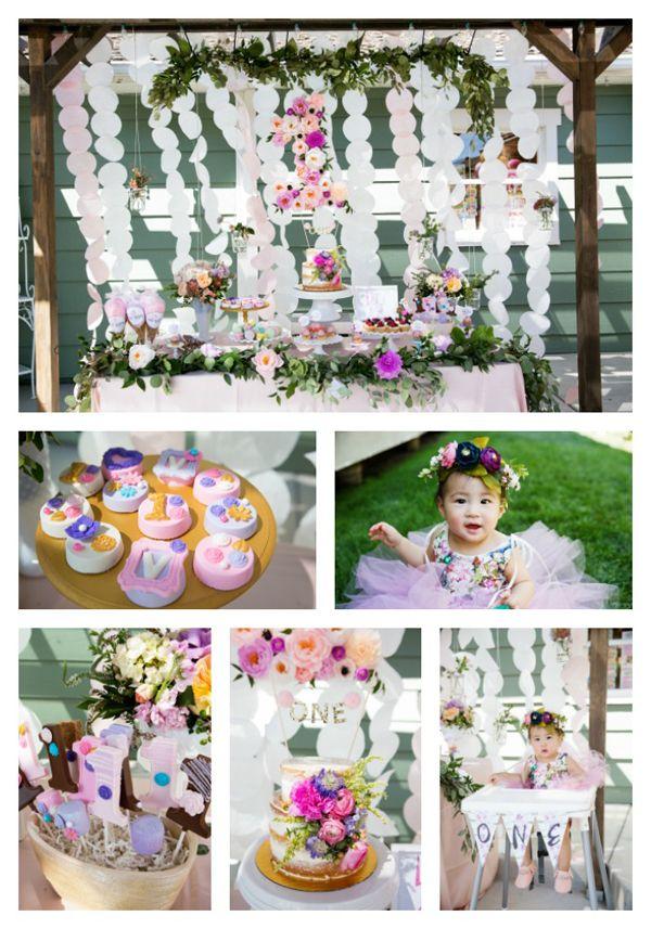 25 Best Ideas About Garden Theme Birthday On Pinterest Flower Party Themes Flower Birthday