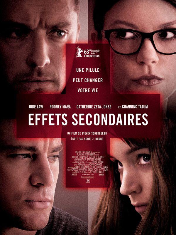 Effets Secondaires (Side Effects) de Steven Soderbergh en salles françaises le 3 avril 2013