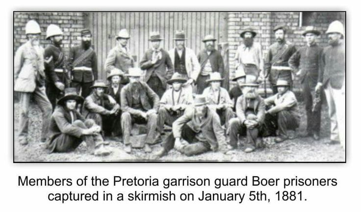 Scenes from 1st Anglo Boer War