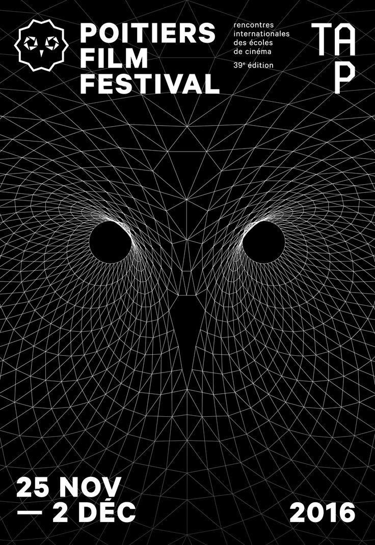 Poitiers Film Festival 2016 #festival #affiche #affichefestival https://fr.pinterest.com/igreka2n/festival/
