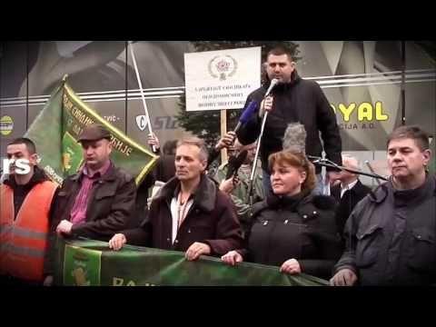 LEDI KRV U ŽILAMA: PROTEST ZAPOSLENIH U VOJSCI SRBIJE - YouTube