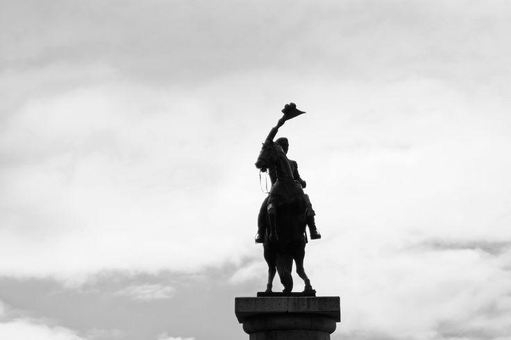 Estatua bernardo Ohiggins