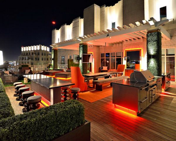 Outdoor Patio Lighting Kitchen Most Beautiful Modern Patio Lighting Ideas