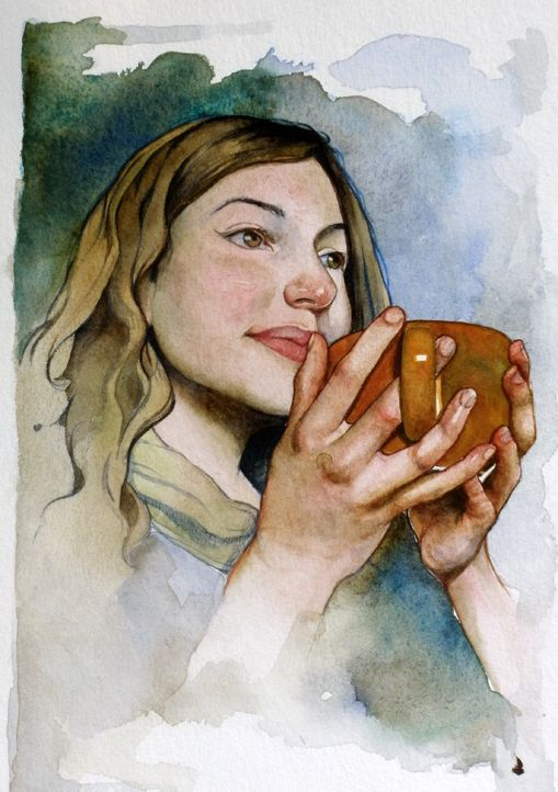 179 best images about Watercolor Portraits & Figures on Pinterest