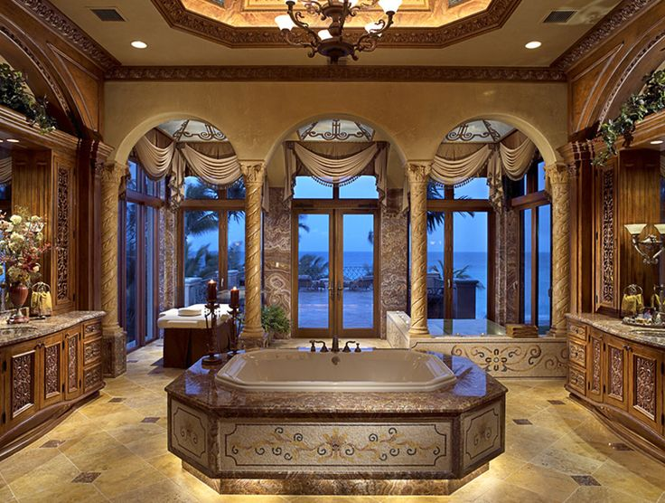 Amazing bathroom love the down light under the bath