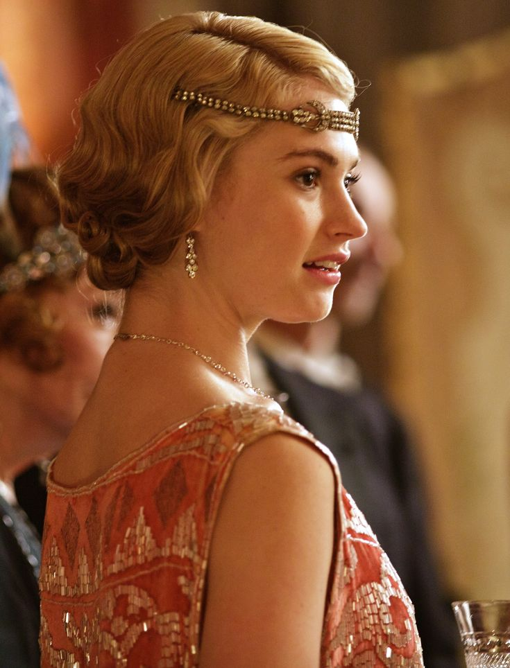 Lily James as Lady Rose MacClare || Downton Abbey Style