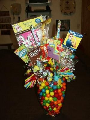 Candy Bouquet Boss And Bouquets On Pinterest