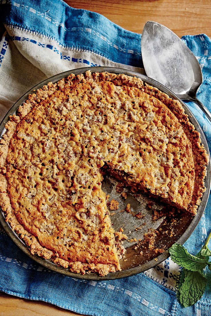 Pecan Chewy Pie Recipe Southern Living/Vivian Howard