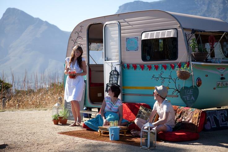 {Lady Bonin's Tea Parlour} in South Africa - love the bohemian vibe!